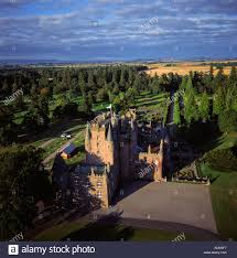 home of queen elizabeth glamis castle scotland aerial view childhood home of elizabeth