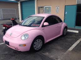 pink volkswagen beetle 2017 pink bug has anyone ever seen one newbeetle org forums