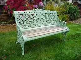Outdoor Bench Furniture by Diy How To Restore A Cast Iron And Wood Garden Bench Wrought