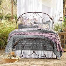 simple wrought iron bed robert redford u0027s sundance catalog