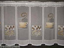 scheibengardine küche scheibengardine küche cafe gardine bistro kaffee tasse 15 cm 1