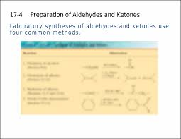 preparation of aldehydes and ketones 17 4 laboratory syntheses of