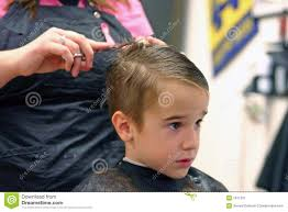 boy getting haircut stock photos image 31908923