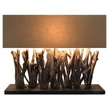 awesome driftwood table lamp for sale table lamp driftwood lamp