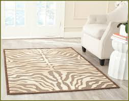 Brown Zebra Area Rug Zebra Area Rug Most Popular Rugs Lowes Cool Design Ideas