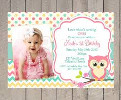 invitation first birthday