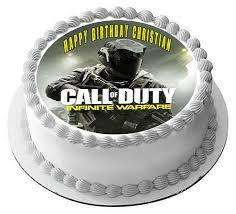 call of duty infinite warfare edible cake topper cupcake toppers