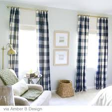 Kitchen Curtains Blue by Zoom Blue Buffalo Check Shower Curtain Navy Blue Buffalo Check