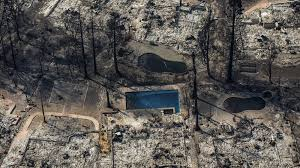 Ca Wildfire Containment by Whole Towns Evacuated As Northern California Firestorm Grows At