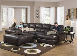 Rustic Chaise Lounge Leather Sectional Sofas With Chaise Sofas