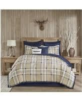 Tan Comforter Comforter Brown Plaid U0026 Check Bedding Sets Bhg Com Shop