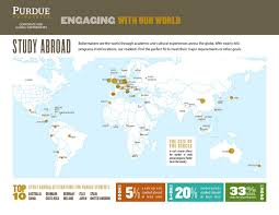 Purdue University Map Study Abroad Map Office Of Corporate And Global Partnerships