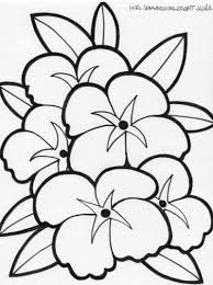 coloring pages of hawaiian flowers hibiscus flower coloring page