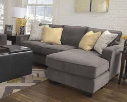 Grey Sofa With Chaise Best 25 Small Chaise Sofa Ideas On Pinterest Small Couch With