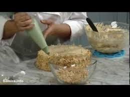 chaine cuisine tv طريقة تحضير جينواز بكريمة البراليني samira tv
