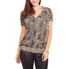 elastic waist blouse product