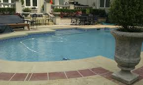 concrete resurfacing can give your old deck or patio a serious
