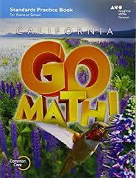 houghton mifflin harcourt go math california practice workbook