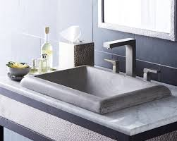 Bathroom Sink Design Stylish Concrete Sinks Designed To Energize The Kitchen And Bath