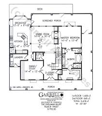 floor plans with porches shellman bluff house plan house plans by garrell associates inc