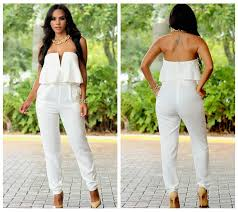 white jumpsuits and rompers for sandi pointe library of collections