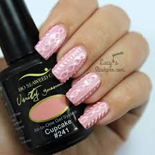 3d cable knit nails with bio seaweed gel tutorial nail art i