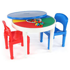 kids plastic table and chairs tot tutors playtime white 2 in 1 plastic compatible kids