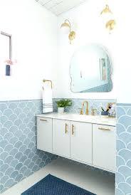furniture for small bathroomfish scale tiles modern small bathroom