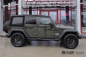 jeep wrangler unlimited wheel and tire packages jeep wrangler with 20in black rhino sidewinder wheels exclusively