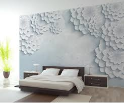 Wall Murals 3d Online Get Cheap Bedroom Flowers Wallpaper Aliexpress Com