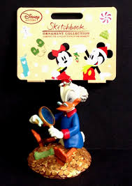 disney 2016 sketchbook ornament scrooge mcduck donald