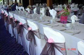 Chair Decorations Wedding Reception Chair Decorations The Wedding Specialiststhe
