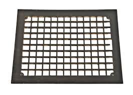 Floor Grates by Original C 1870 U0027s Antique American Ornamental Black Enameled Cast
