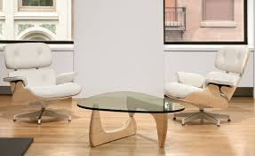 eames chair side table furniture home white ash eames lounge chair charles and ray eames