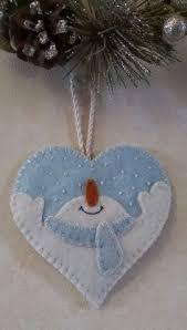 button and felt diy ornaments diy