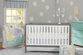 Girls Nursery Bedding Set by 3 Piece Baby Boy Crib Bedding Set Animals Theme Nursery Bassinet
