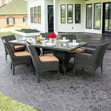 Lakeview Patio Furniture by Audubon 6 Person Aluminum Patio Dining Set With Aluminum Table