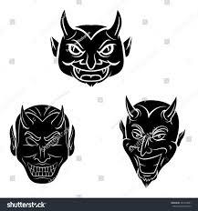 devil head tattoo stock illustration 337413881 shutterstock