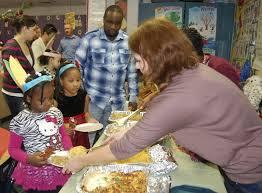 easton elementary school thanksgiving feast featured stardem