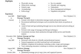 Massage Therapy Resume Samples by Resume Sample Massage Therapist Licensed Massage Therapist Resume