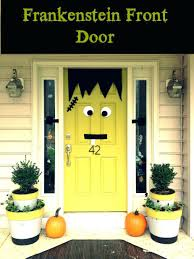 front door halloween decoration ideas pinterest diy decor