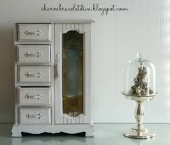 Jewelry Armoire For Sale Our Hopeful Home Vintage Jewelry Armoire Upcycle With Dixie Belle