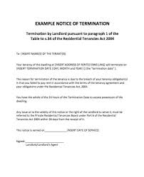 termination letter sample 02 employment contract termination