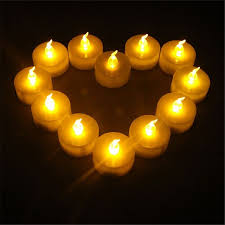 small tea light candles 12pcs candle flameless battery powered operated tea light candles