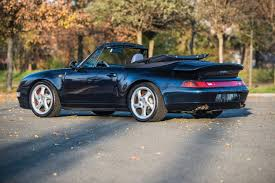 porsche convertible this porsche 993 turbo cabriolet just sold for 1 4 million the
