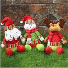 wholesale christmas hanging puppets pendant ornaments snowman