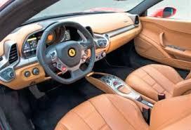 458 Spider Interior Ferrari 458 Spider Rental Miami