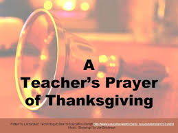 a s prayer of thanksgiving authorstream