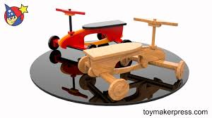 Homemade Wooden Toy Trucks by Wood Toy Plans Quick U0026 Easy Rocket Ryder Ride On Car Youtube