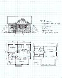 Small Cabin Plans Log Floor Cottage Plan Home Free Download Cost